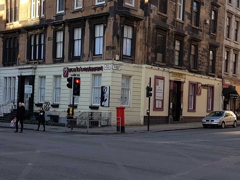 Marcellos Restaurant, Glasgow